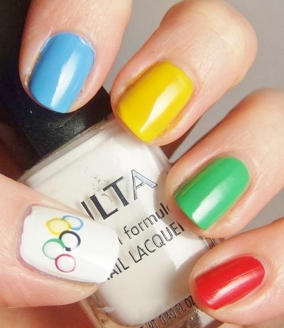 Olympische Spelen - nagellak - mamaliefde