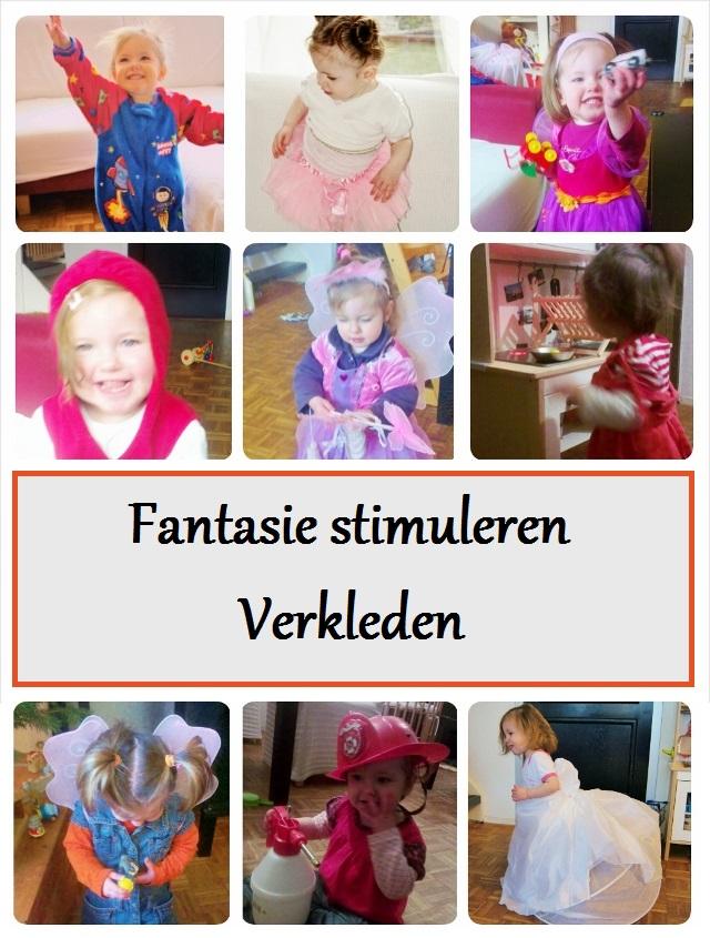 Fantasie stimuleren: verkleden - mamaliefde