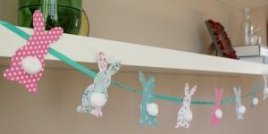Paasdecoratie: paasslinger - Life by Rosie
