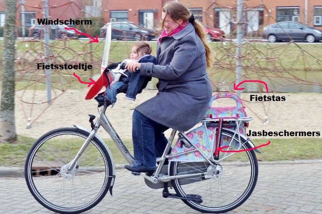 Op de fiets: mamafiets - mamaliefde