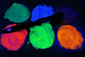 Eart hour: Glow in the dark home made - mamaliefde