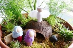 Pasen; Paastuin maken - mamaliefde