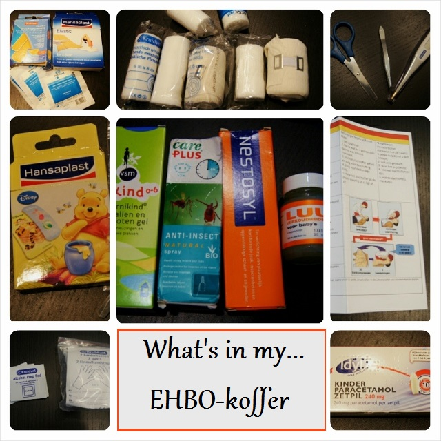 What's in my ehbo-koffer - mamaliefde